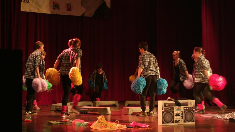 Spektakl na scenie