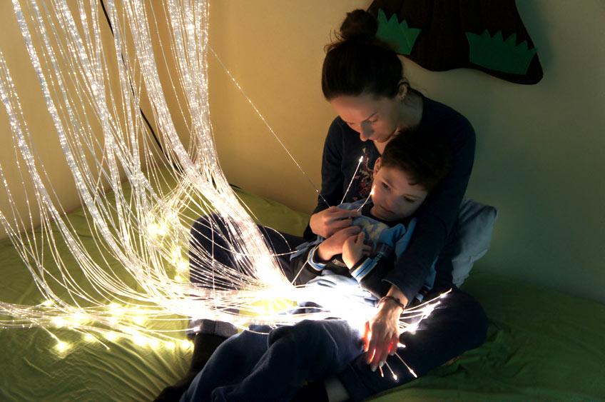 Rehabilitacja dziecka światłem