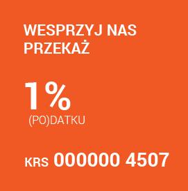 Wesprzyj nas przekaż 1% podatku